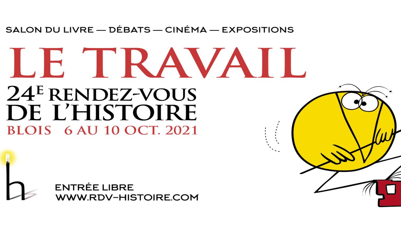 L'affiche des RDV de l'Histoire 2021.