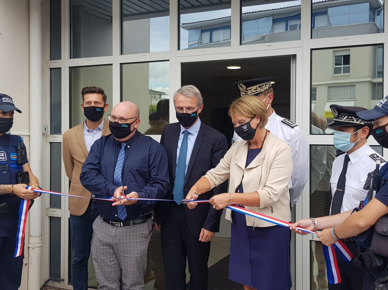Gironde : A Pessac, inauguration d'un Centre de Supervision Urbain