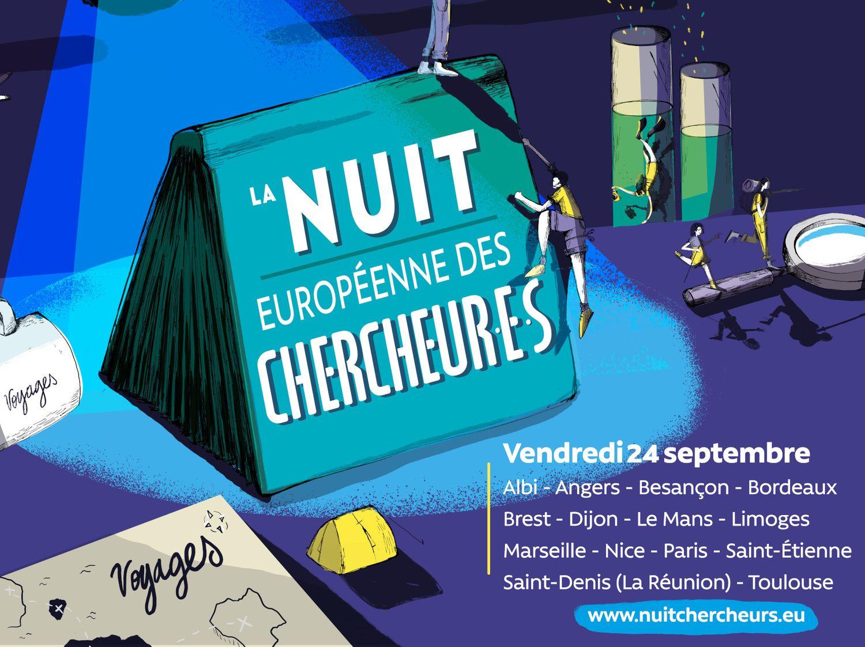 La Nuit Européenne des Chercheurs du Mans vous invite au voyage !