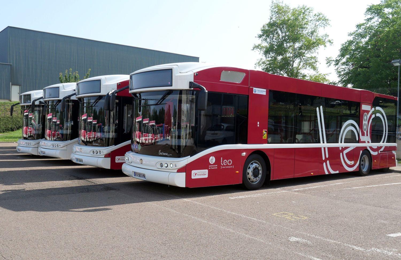 Les bus à hydrogène qui circulent à Auxerre.