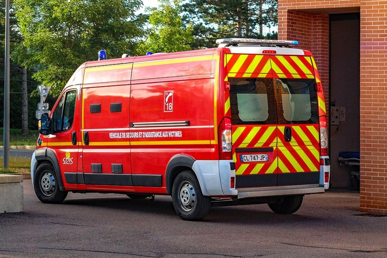 Les pompiers ont été déclenchés en milieu d'après-midi dans un des lacs d'Ouzouer-sur-Trézée.