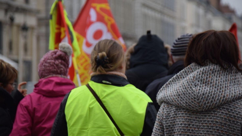 """L'intersyndicale s'oppose """"aux projets de régression sociale"""" du gouvernement."""