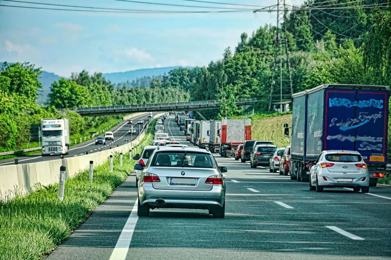 Attention à quelques embouteillages sur les routes.