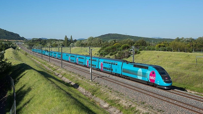 Lignes OuiGo low cost Paris - Alpes