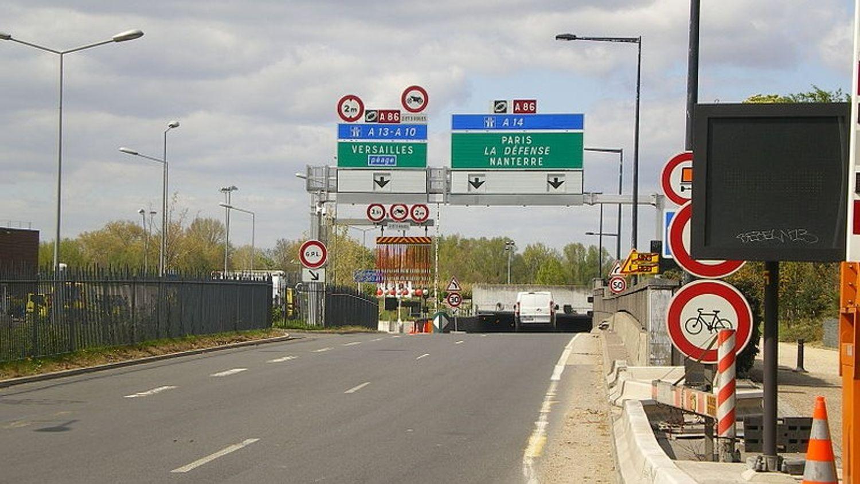 Routes : les accès vers l'A14 à Nanterre déjà rouverts