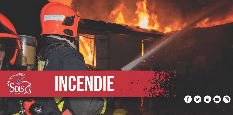 Compans : un violent incendie en cours dans un camp de Roms