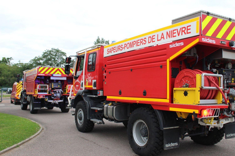 Des pompiers de la Nièvre, par exemple, rejoignent le Sud de la France.