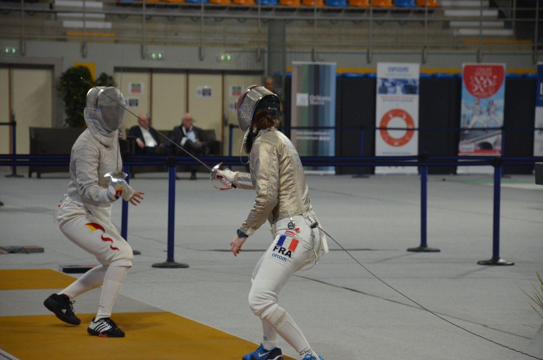 La coupe du monde de sabre dames d'Orléans en 2019.