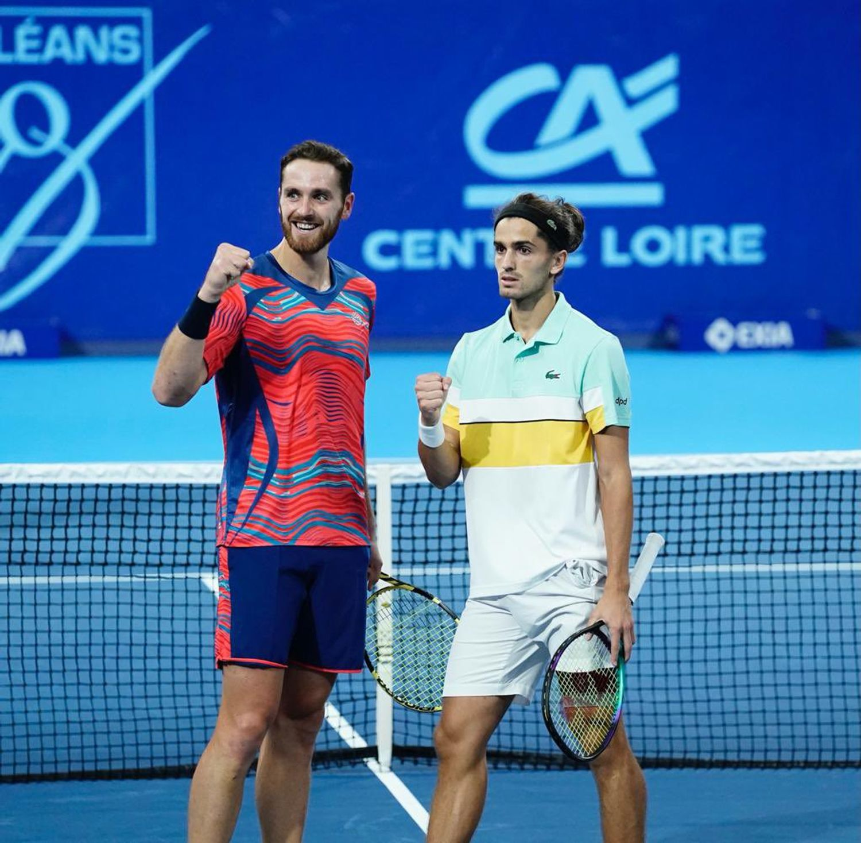 Les Français Herbert et Olivetti ont remporté la compétition en double ce dimanche.