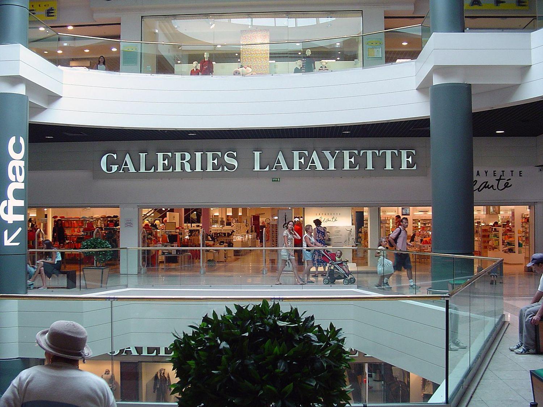 Un magasin Galeries Lafayette, à Montpellier.