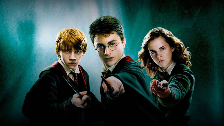 Les trois personnages principaux de la saga Harry Potter connaissent très bien la Forêt Interdite