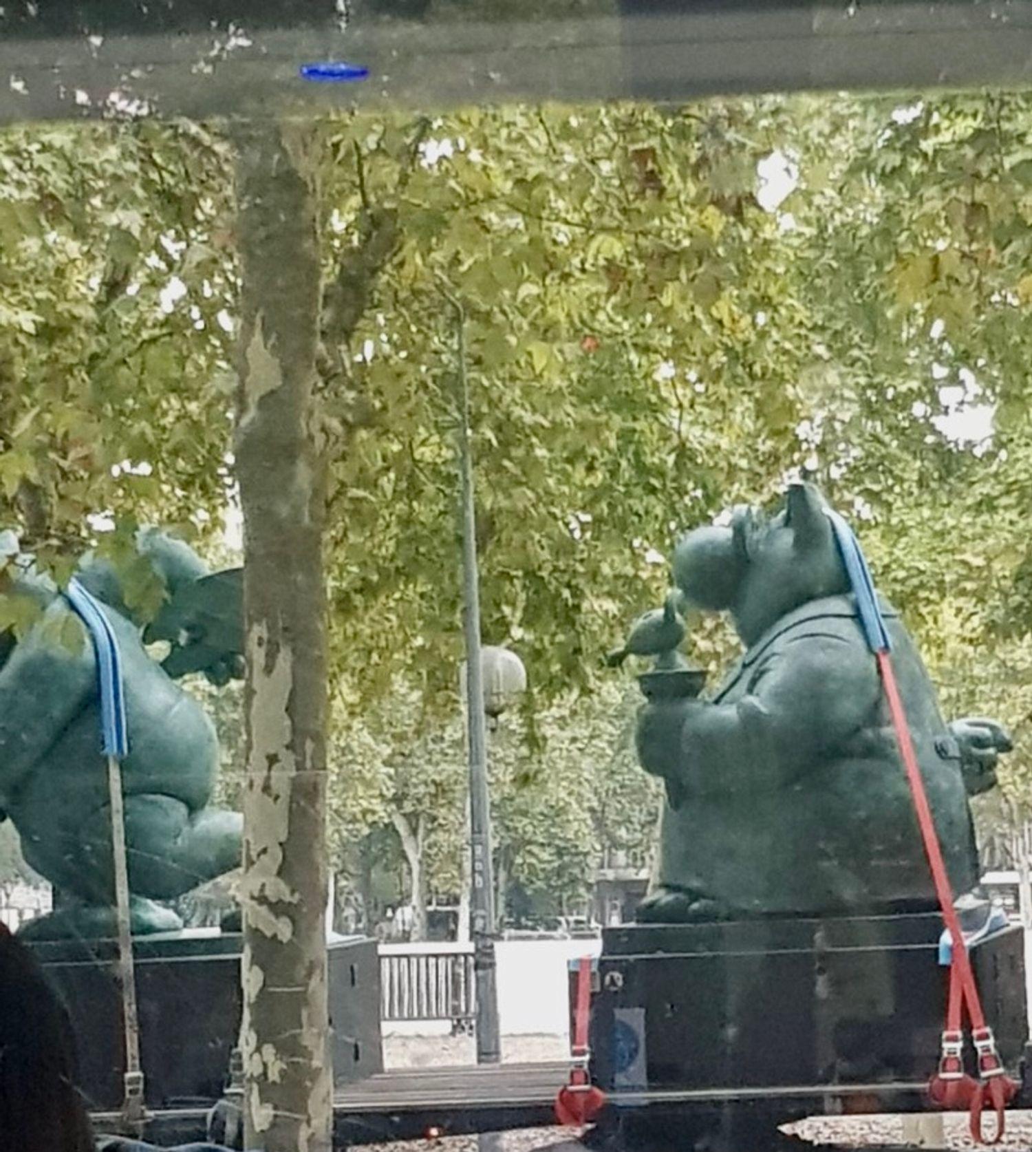 statues Geluck