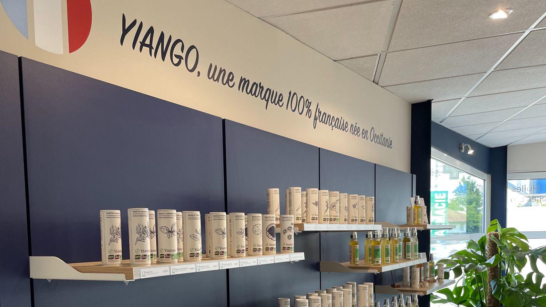 Yiango présentoir