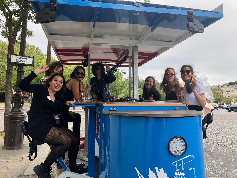 Beer Bike Demi-Tour Paris