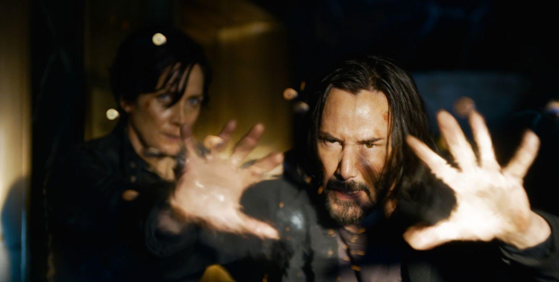 Les premières images de Matrix 4