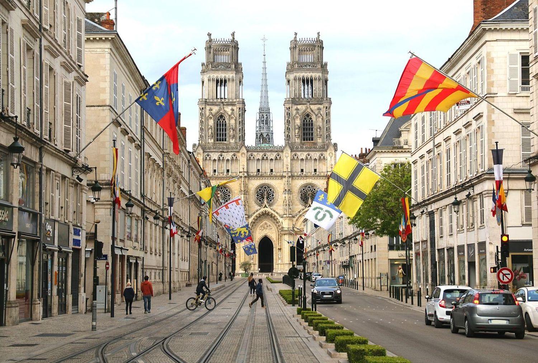 La cathédrale d'Orléans.