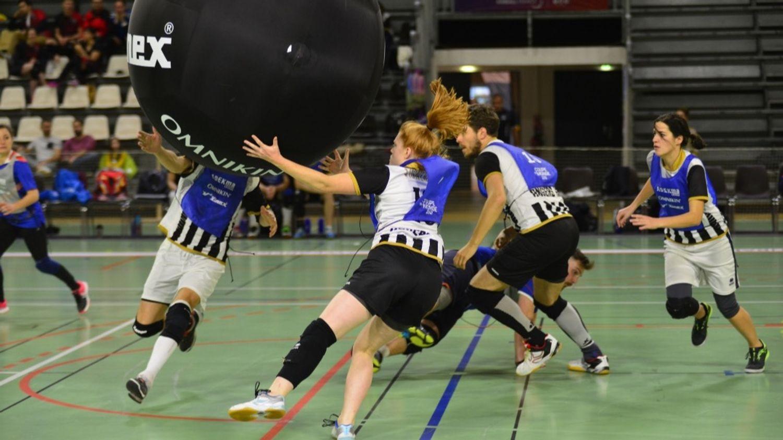 Première journée de championnat régional de Kin-ball ce dimanche à Angers !