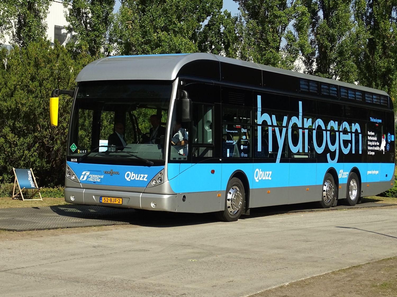 Bus à hydrogène vanHool QBuzz