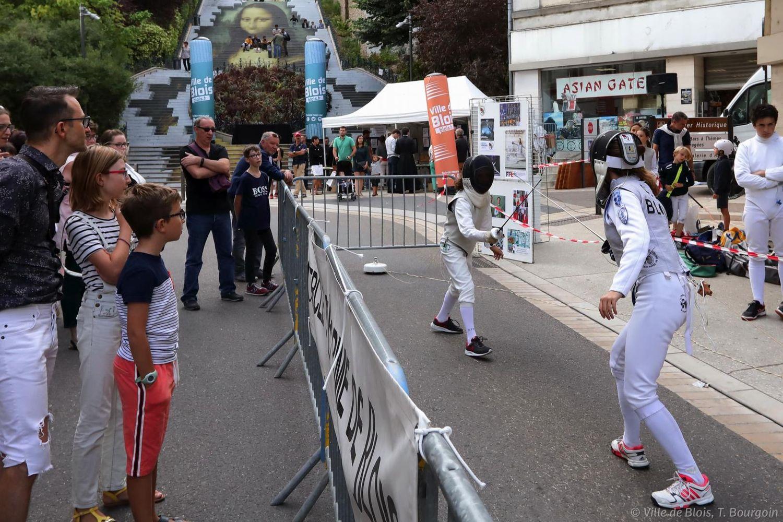 Image d'archives. La Fête du sport revient à Blois.