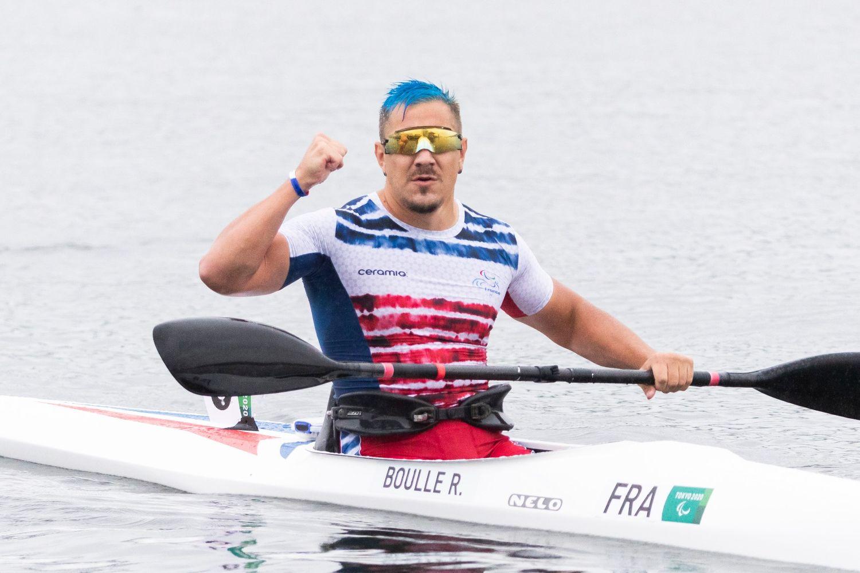 Première médaille pour Rémy Boullé aux Jeux paralympiques.