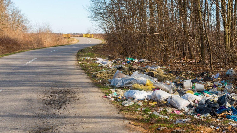 Pollution des bords de routes