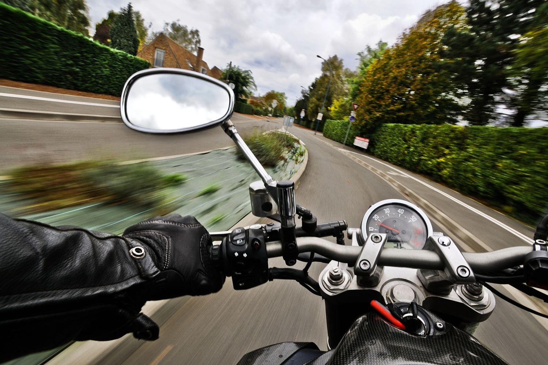 Motard moto deux-roues