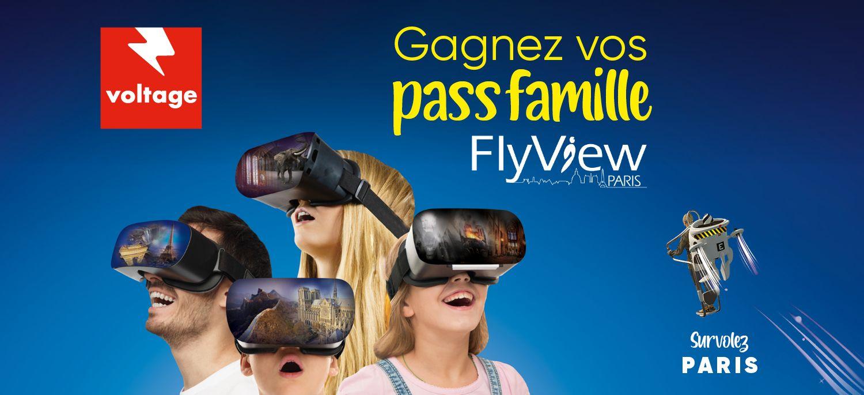 Opération FlyView Paris