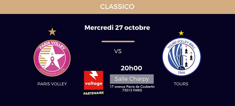 Paris Volley - Tours