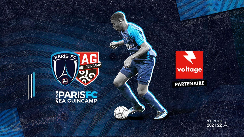Opération Paris FC - EA Guingamp