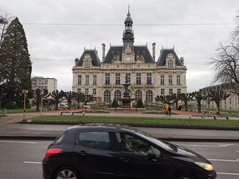 L'Hôtel de Ville de Limoges.