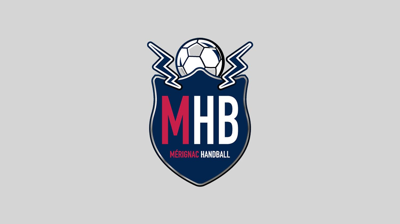 Logo MHB Mérignac Handball