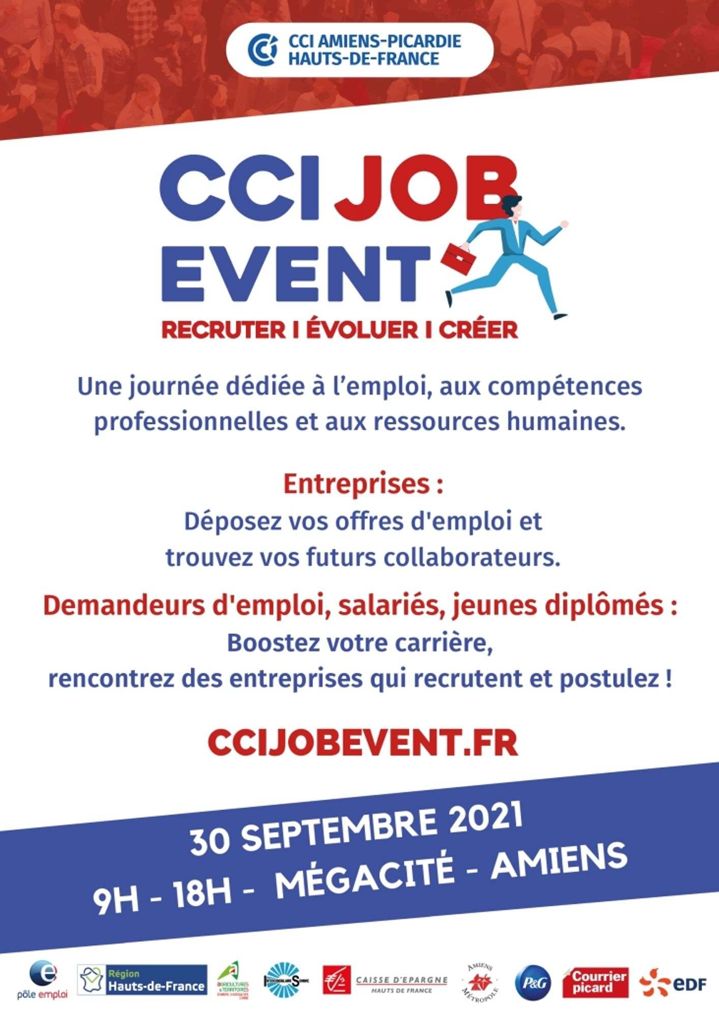 CCI JOB EVENT 2021 - Amiens