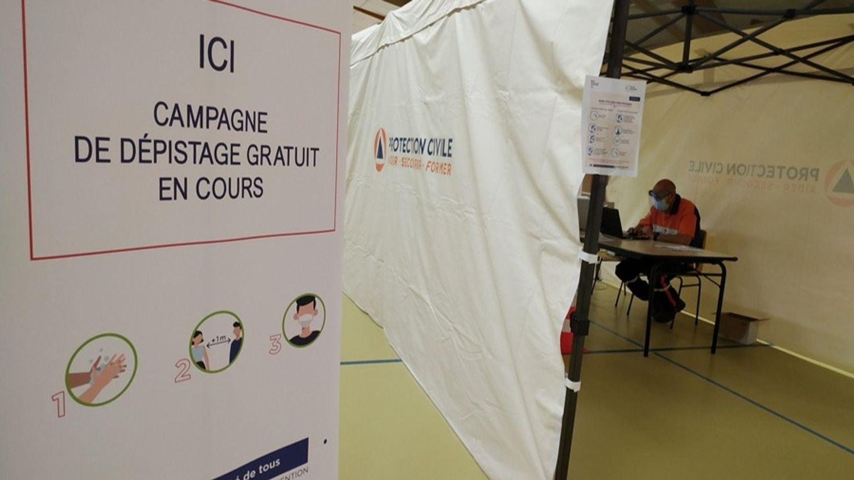 Le centre de dépistage temporaire de l'Huisserie a fermé samedi soir au profit d'un dispositif mobil