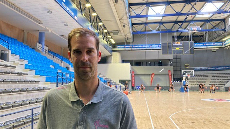 David Gautier, coach de l'UFAB