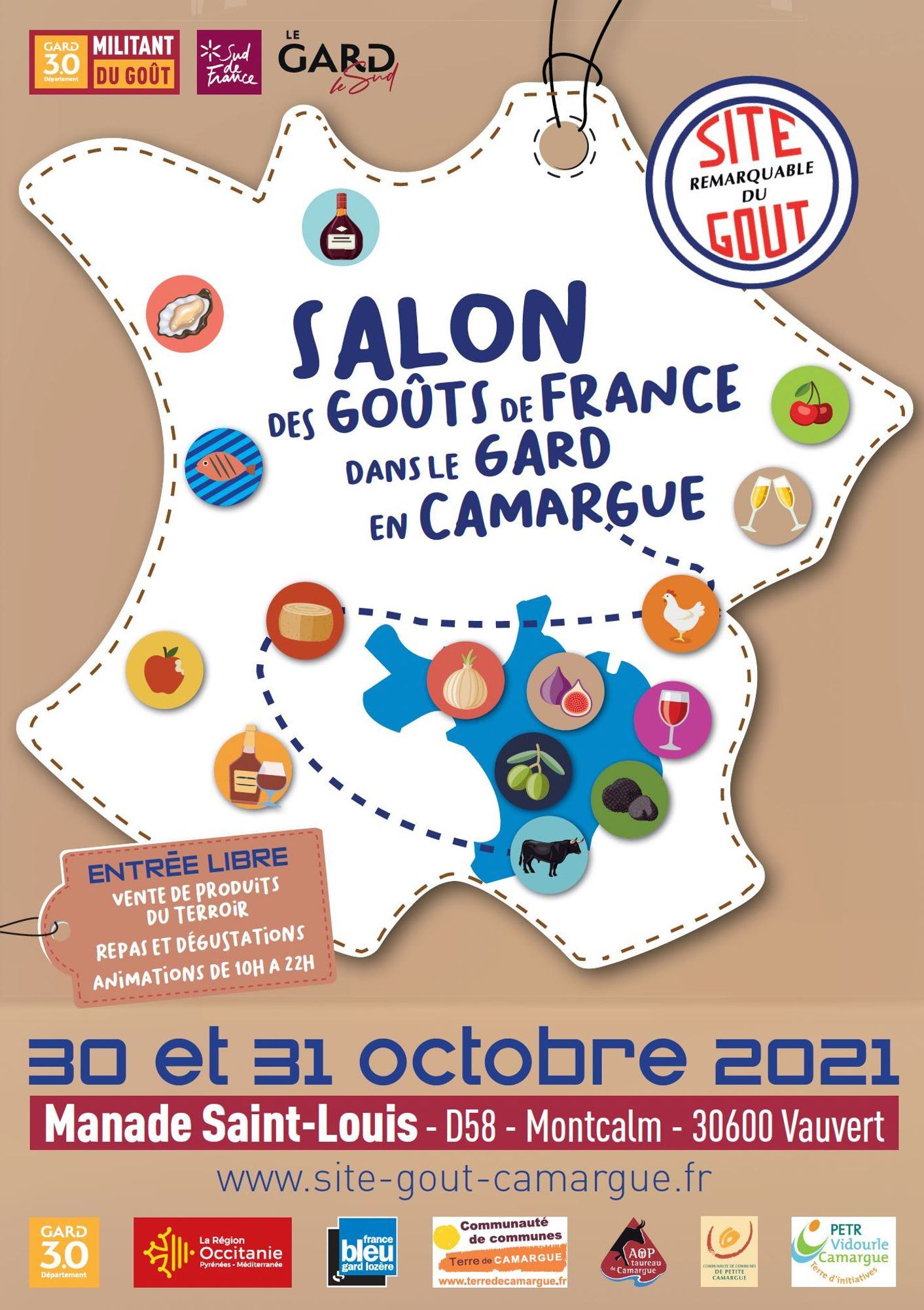 Salon des gouts Camargue