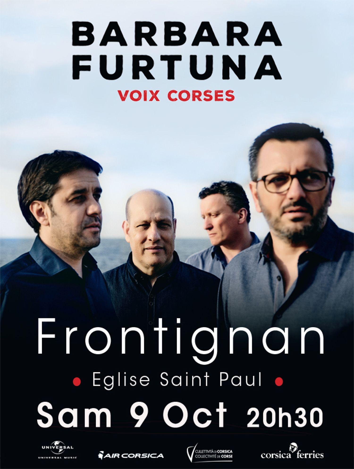 Barbara Furtuna en concert à Frontignan