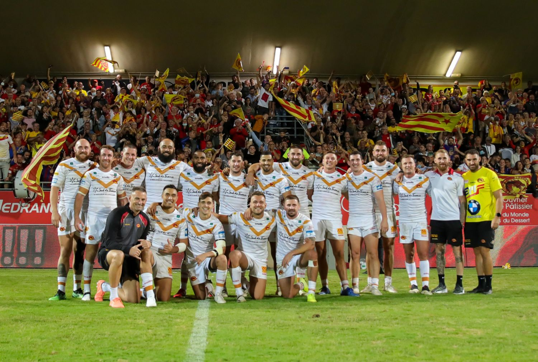 Les dragons catalans en finale