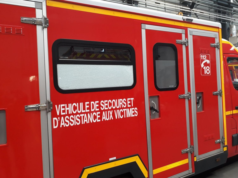 Un véhicule de pompiers