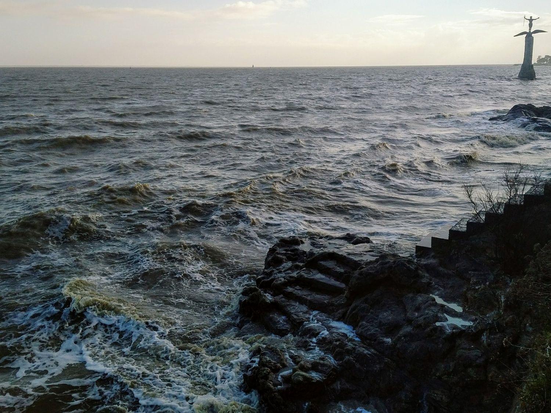 Tempête Aurore : jusqu'à 137 km/h de vent près de Saint-Nazaire,...
