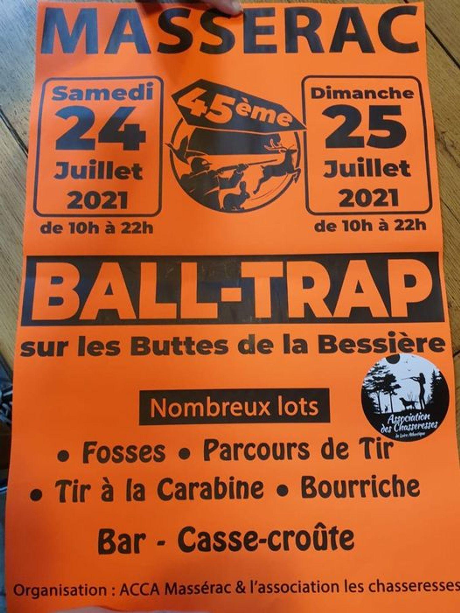 Ball Trap à Massérac