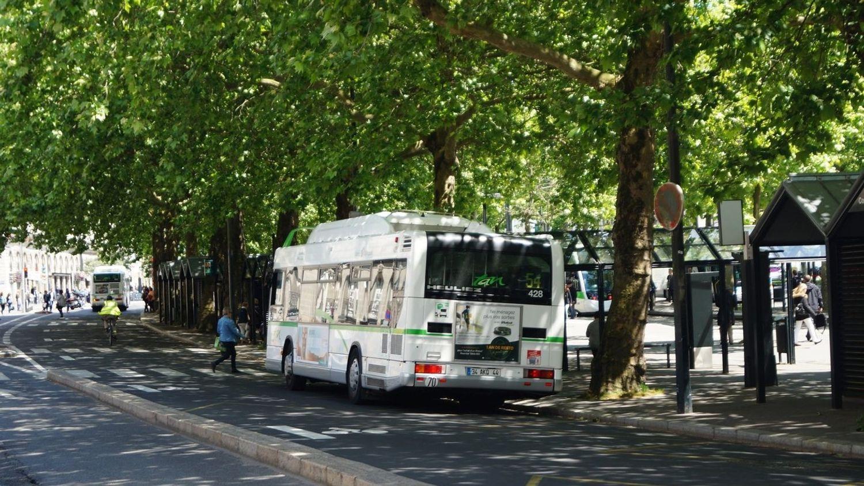 Un bus à Nantes