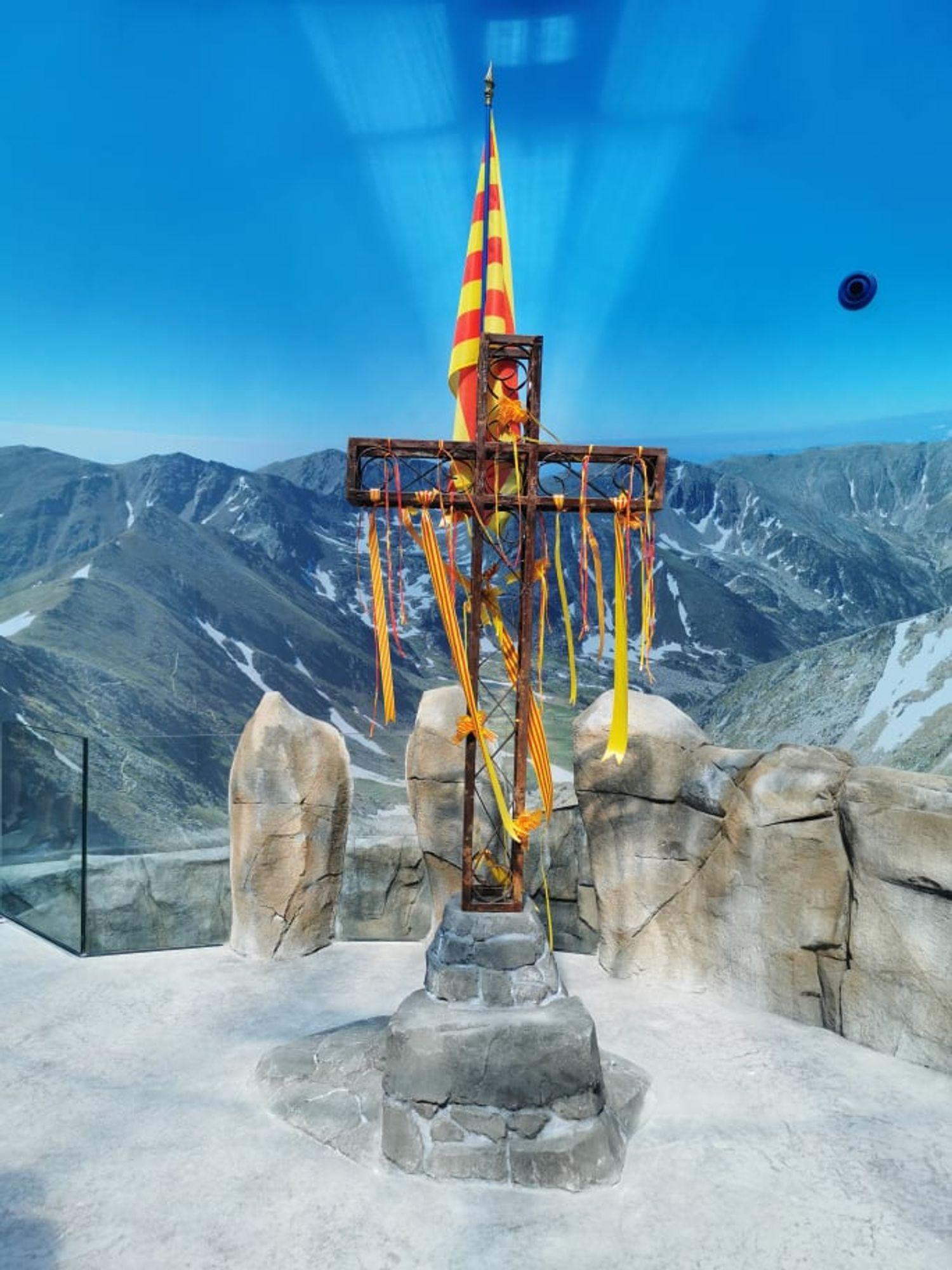Point de départ de la visite, le sommet du Canigou