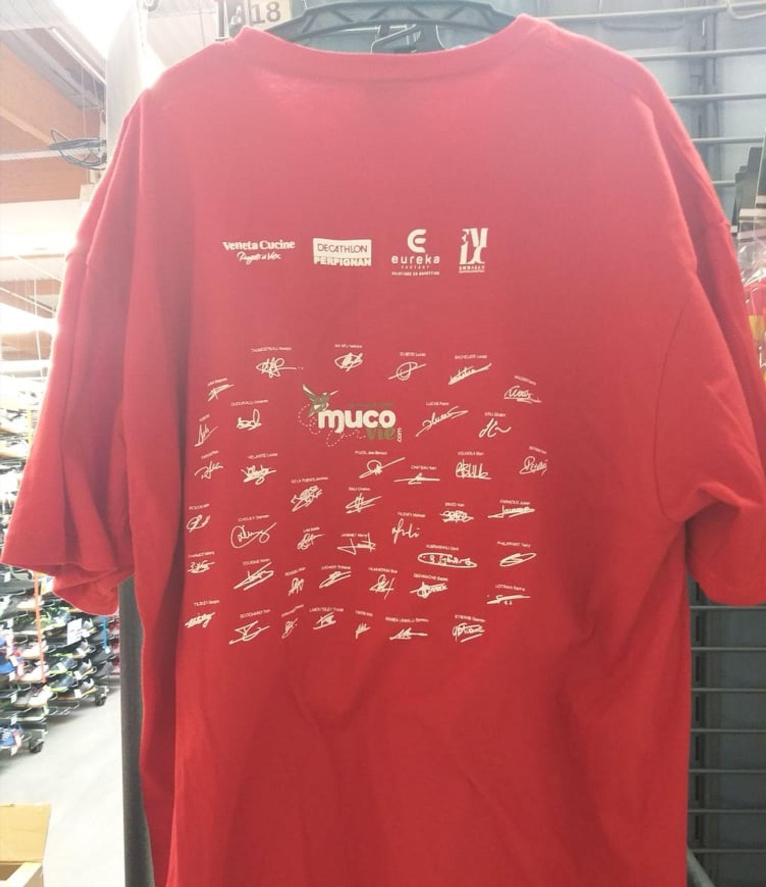 tee shirt mucovie 66