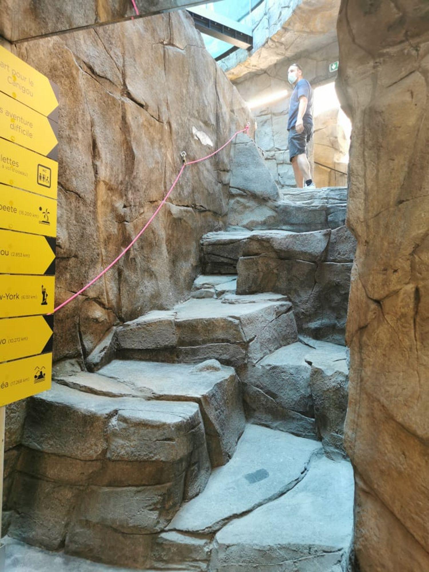 l'accession du Mont Canigou pour commencer la visite