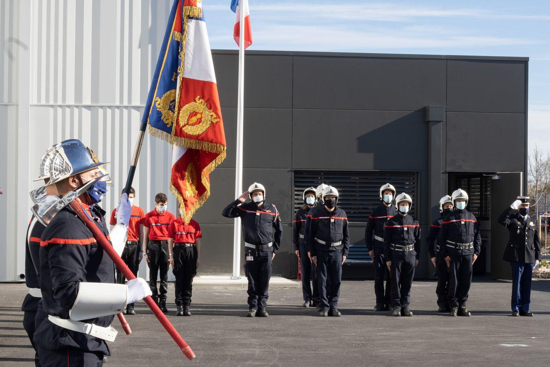 Passation de commandement Perpignan Ouest