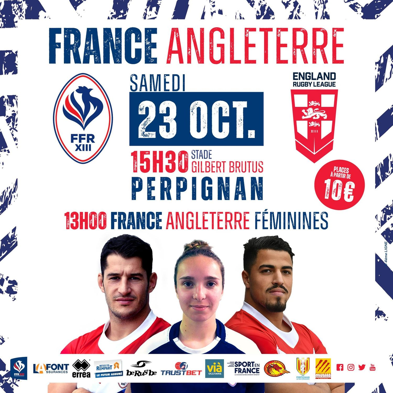 Rugby à XIII: L'équipe de France affronte l'Angleterre ce samedi à...