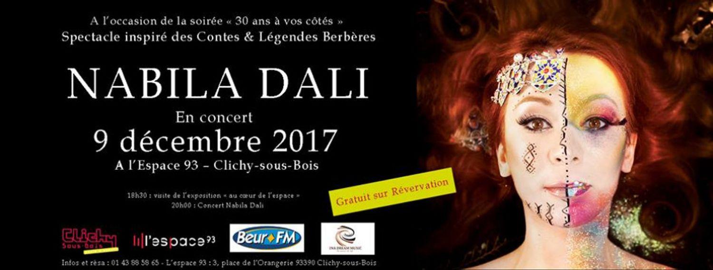 Nabila Dali en concert