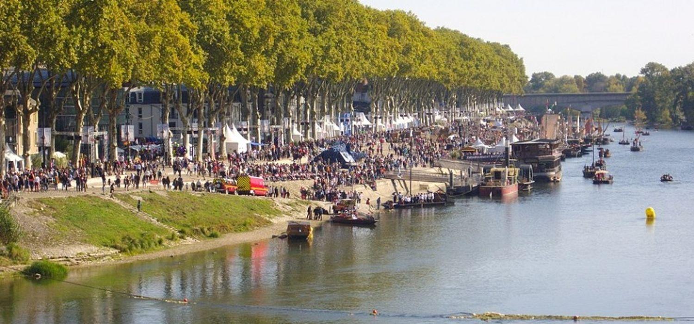 Le festival de Loire à Orléans en 2017.