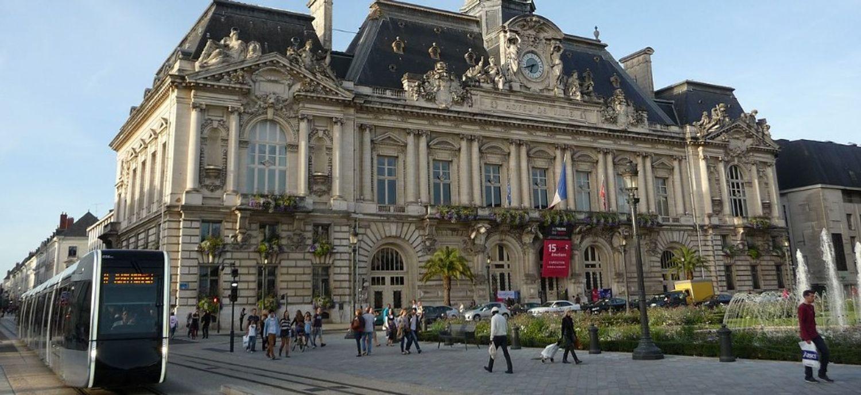 Un centre de dépistage avait été installé à l'hôtel de ville de Tours.
