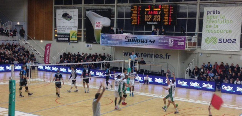 Victoire historique pour le Rennes Volley 35
